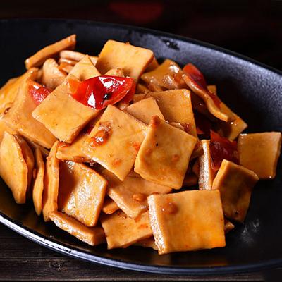豆腐干五香麻辣卤素食600g